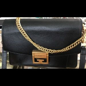 GIVENCHY GV3  Black with Gold Hardware